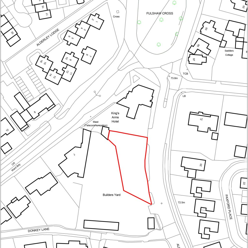 Kings Arms Location Plan