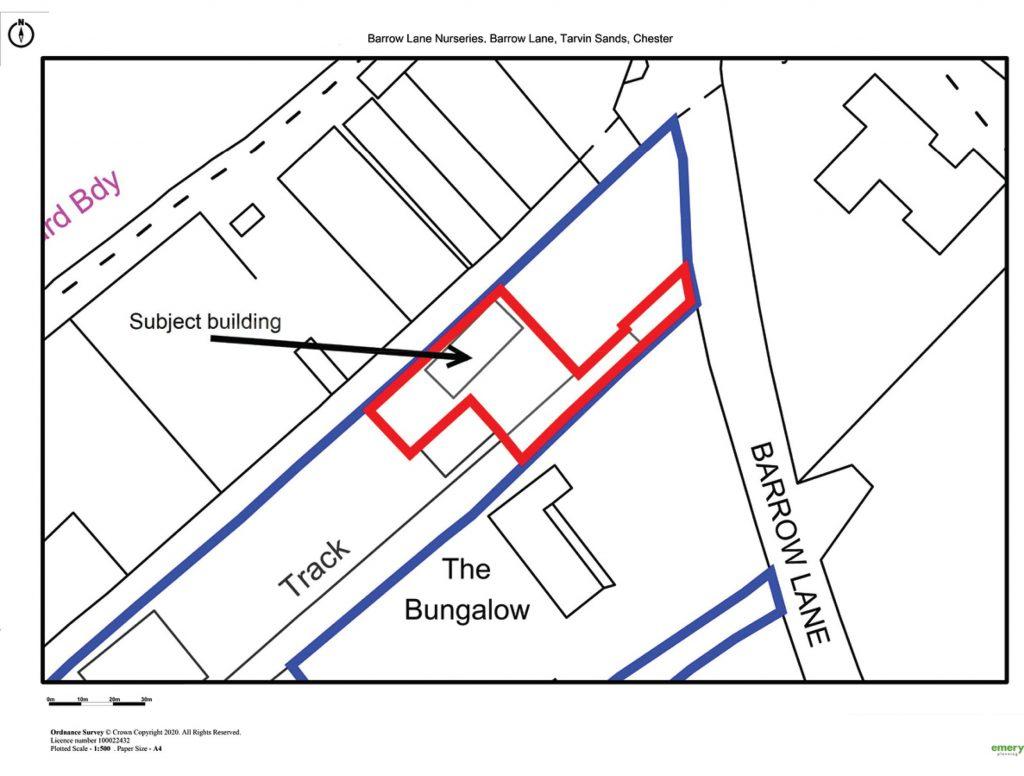 Tarvin - Location Plan