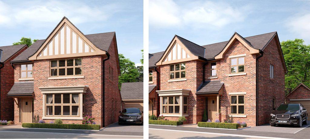 Star Lane - House Elevation Rendered Images